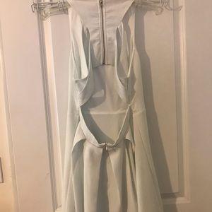 Lulu's Dresses - White skater dress